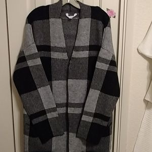Blanket cardigan. SZL